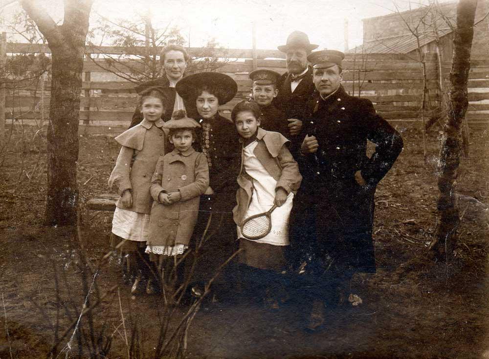 Famille Kuehner - Odessa - début XXème siècle