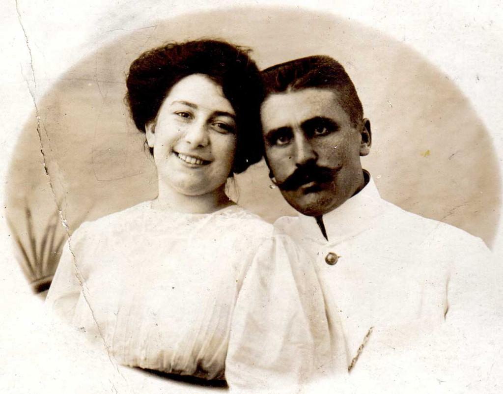 Adele et Michel - 1909
