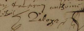 Le partage des biens de Nicolas Le Bois, Paris 1649