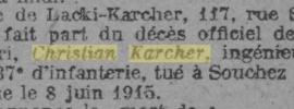 C'était en 1918 – Daniel Karcher et Jeanne Dabzat