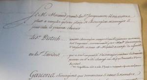 Mémoire en date du 26 septembre 1757 - SHD GR Ya 128