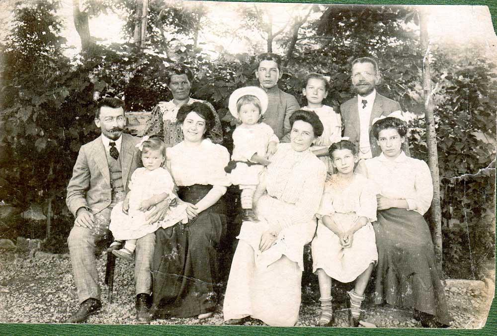 Famille Kuehner - Odessa - début 20ème siècle