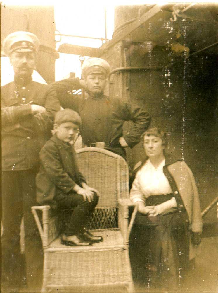 Sur le Vladimir, après la guerre