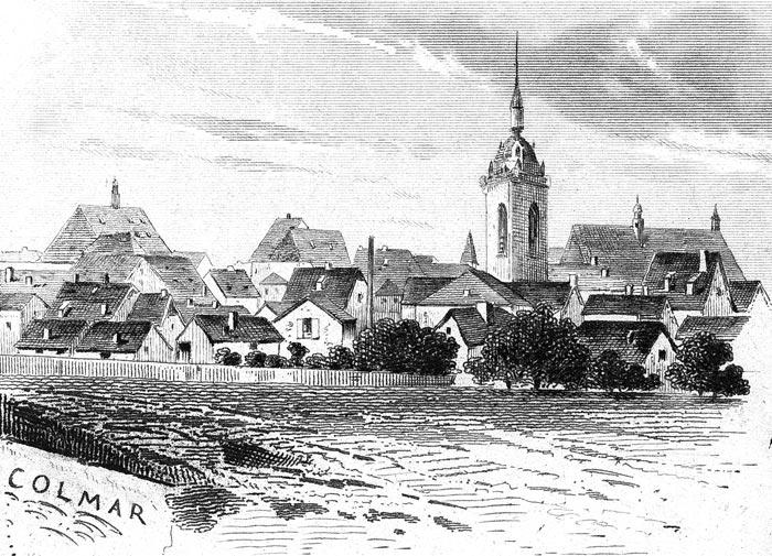 Colmar en 1883