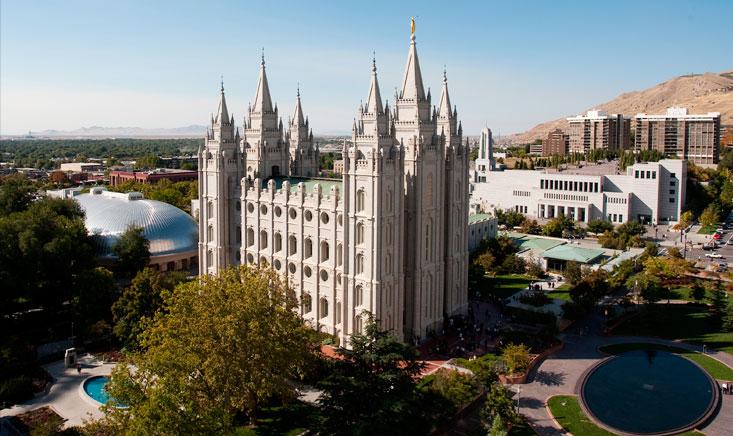 Salt Lake City Temple square -