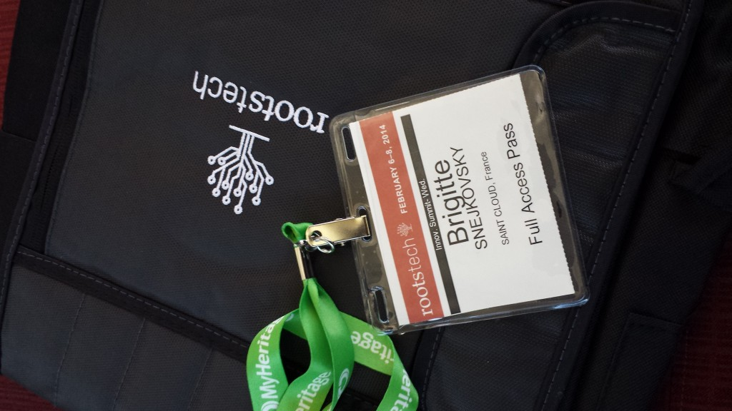 Badge RootsTech 2014