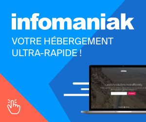 Hebergé chez Infomaniak